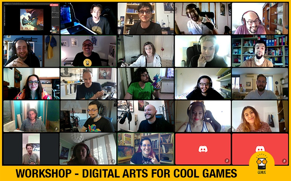 DIGTAL ARTS FOR COOL GAMES '21
